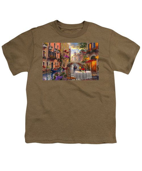 Venice Al Fresco Youth T-Shirt