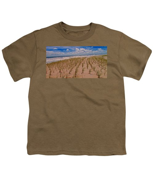Wildwood Beach Breezes  Youth T-Shirt by David Dehner