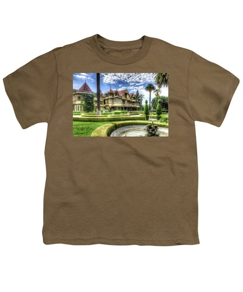 Youth T-Shirt featuring the photograph Winchester Mystery House by Jim Thompson