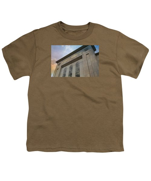 Yankee Stadium Youth T-Shirt by Stephen Stookey