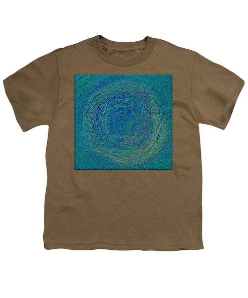 Youth T-Shirt featuring the digital art Sand Color by Mihaela Stancu
