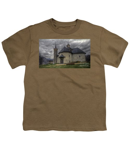 Baroque Church In Savoire France 6 Youth T-Shirt