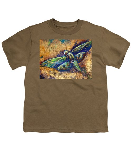 Gold Moth Youth T-Shirt