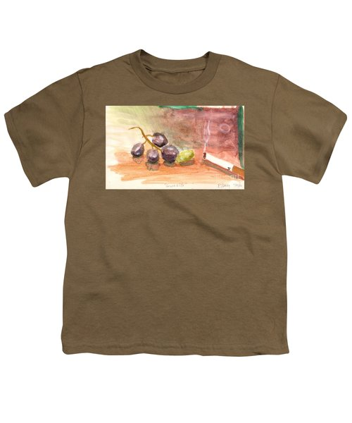 Grapeality Youth T-Shirt by Rod Ismay