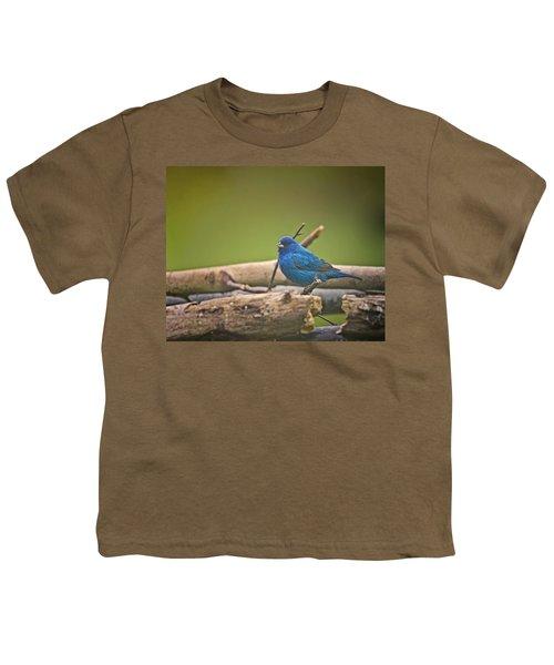 Indigo Bunting Youth T-Shirt