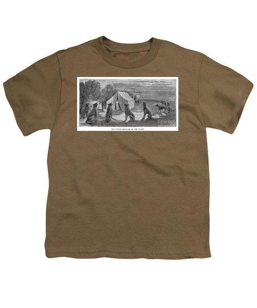 Mango Hummingbird Youth T-Shirt by Granger