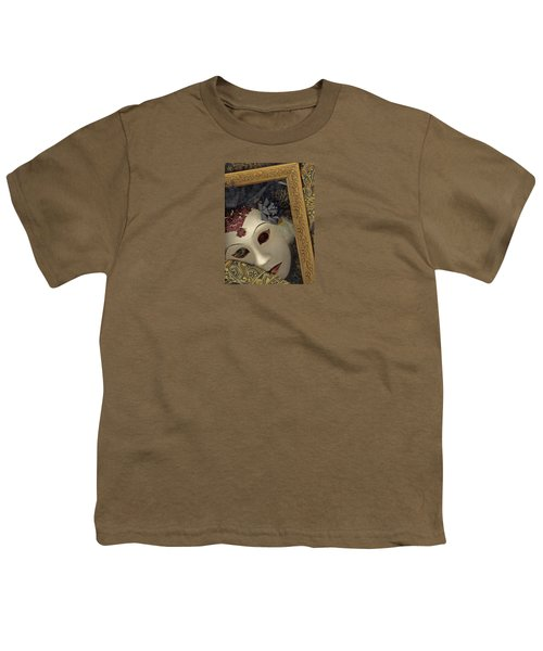 Youth T-Shirt featuring the mixed media Pensive by Nareeta Martin