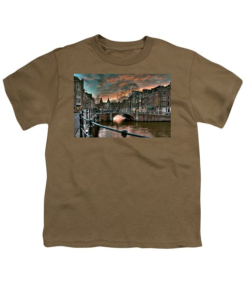 Prinsengracht And Reguliersgracht. Amsterdam Youth T-Shirt