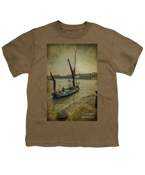Youth T-Shirt featuring the photograph Sailing Away... by Clare Bambers