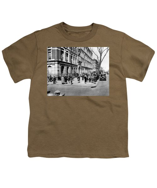 School's Out In Harlem Youth T-Shirt by Underwood Archives