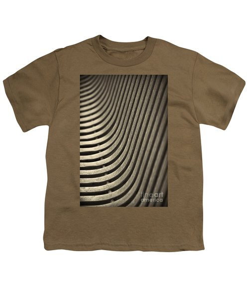 Youth T-Shirt featuring the photograph Upward Curve. by Clare Bambers