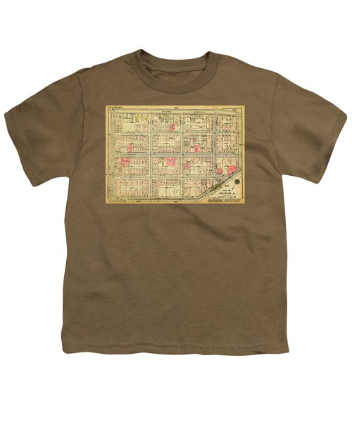 1927 Inwood Map  Youth T-Shirt