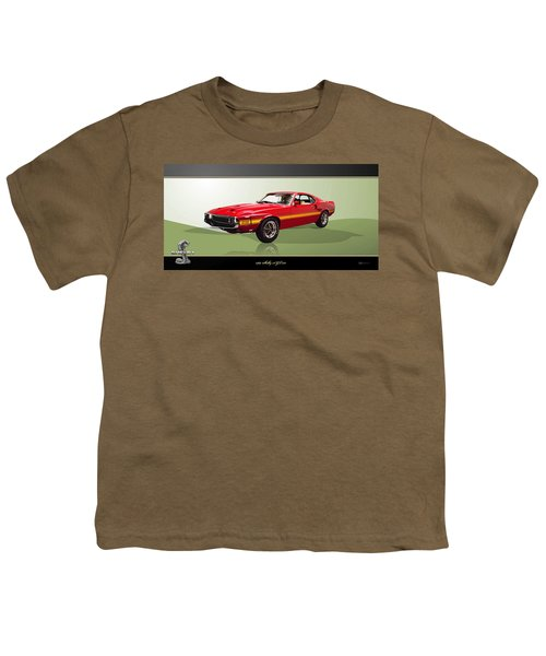 1969 Shelby V8 Gt350  Youth T-Shirt