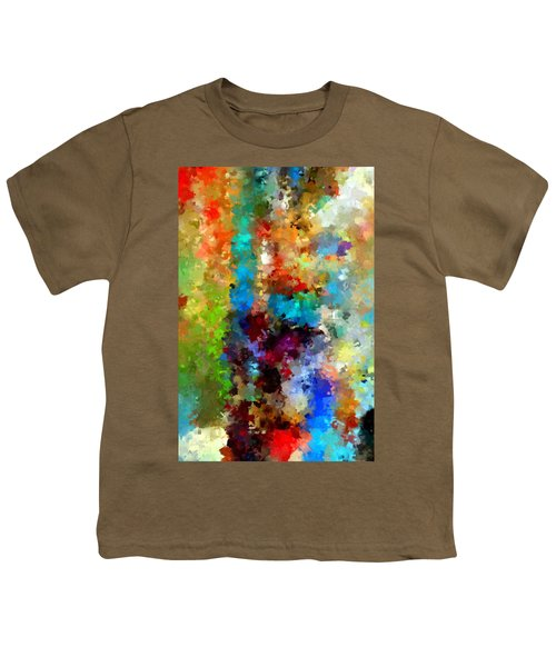 Abstract 457a Youth T-Shirt