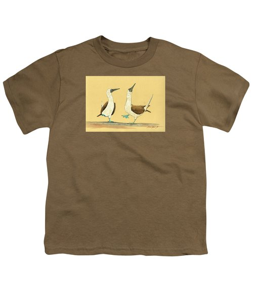 Blue Footed Boobies Youth T-Shirt