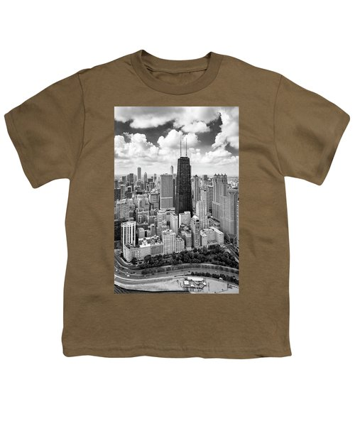 Chicago's Gold Coast Youth T-Shirt by Adam Romanowicz