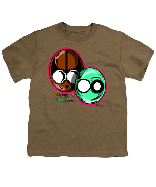 Daddy Long Legs And The Inchworm Youth T-Shirt