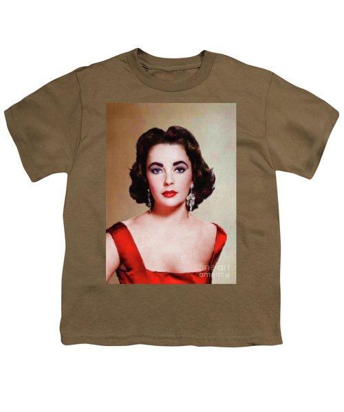Elizabeth Taylor Hollywood Actress Youth T-Shirt