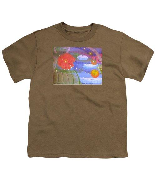 Fantasy Garden Youth T-Shirt by Rod Ismay