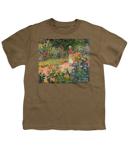 Garden At Giverny Youth T-Shirt