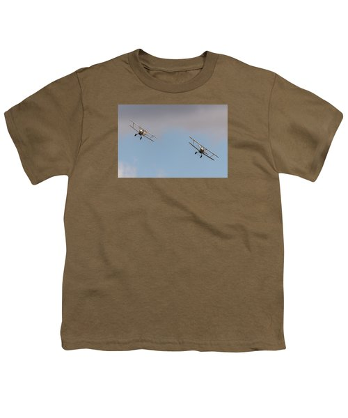 Hawker Nimrods Youth T-Shirt by Gary Eason