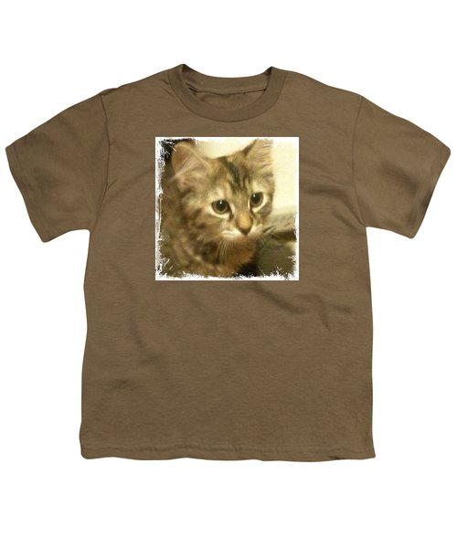 Ellie Kitty Youth T-Shirt by Anna Porter