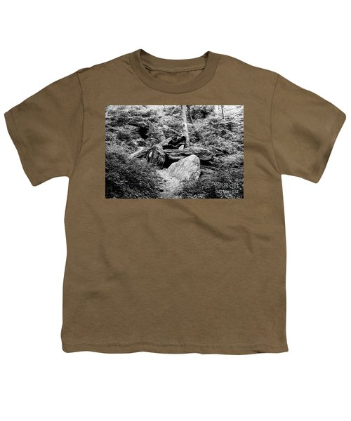 Native American Caves  Youth T-Shirt