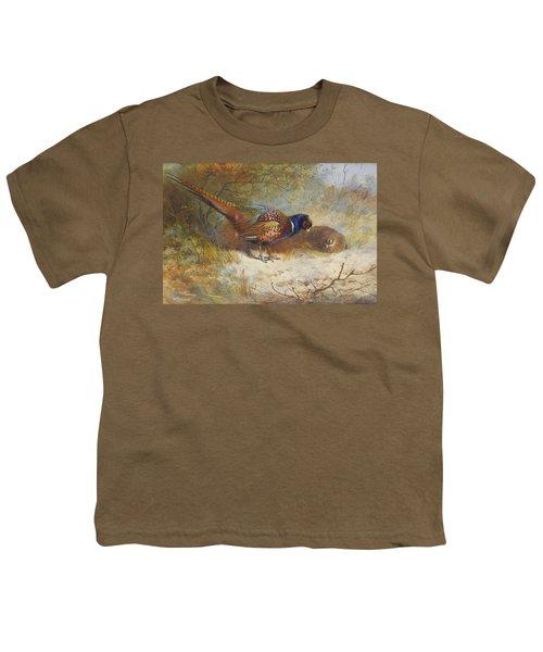 Pheasants  Youth T-Shirt