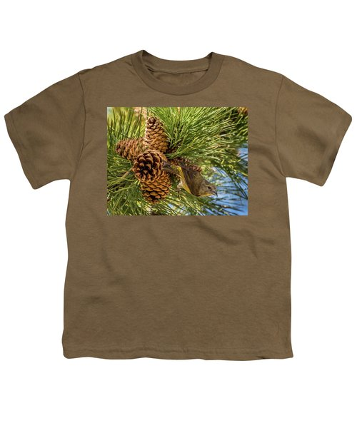 Red Crossbill Youth T-Shirt