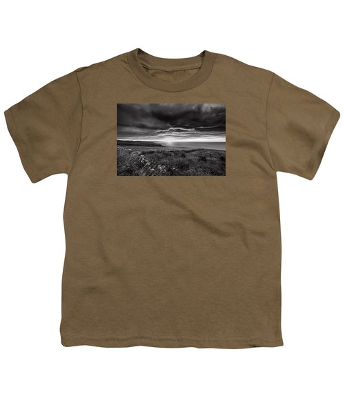 Scottish Sunrise Youth T-Shirt by Jeremy Lavender Photography