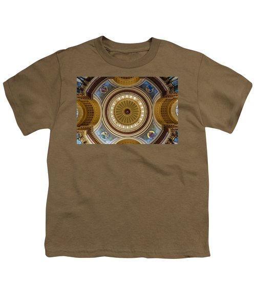 Under The Dome Youth T-Shirt by Randy Scherkenbach