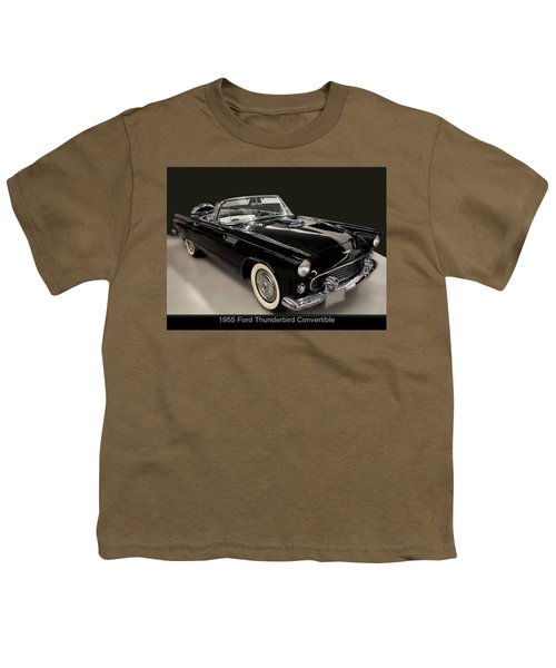 1955 Ford Thunderbird Convertible Youth T-Shirt