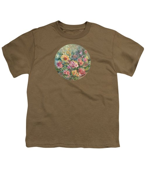Floral Painting Youth T-Shirt
