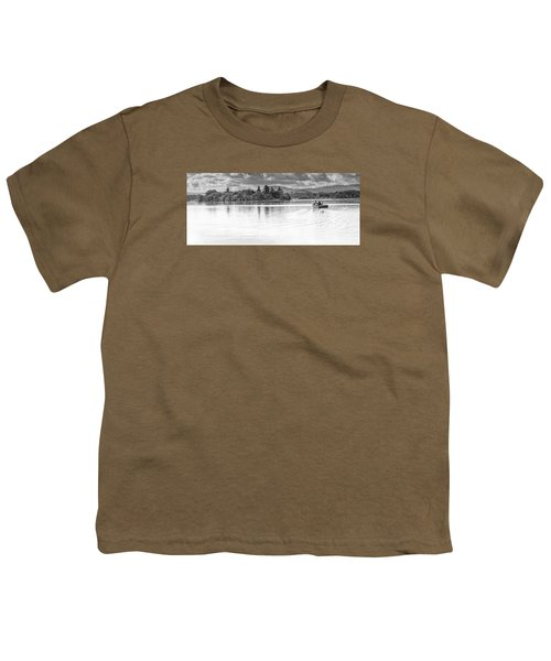 Lake Of Menteith Youth T-Shirt by Jeremy Lavender Photography
