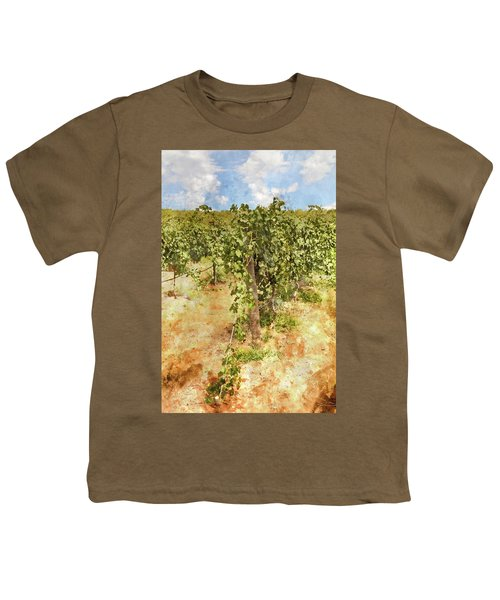 Napa Vineyard In The Spring Youth T-Shirt