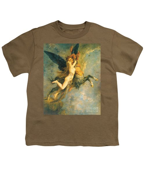 The Chimera Youth T-Shirt by Gustave Moreau