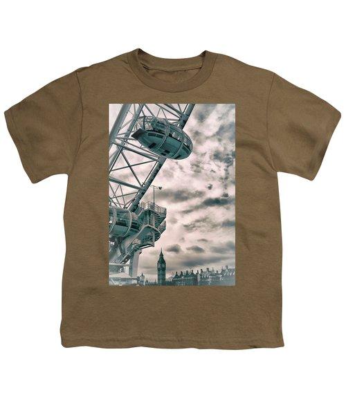 The London Eye Youth T-Shirt by Martin Newman