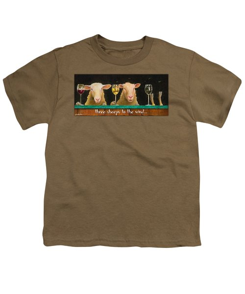 Three Sheeps To The Wind... Youth T-Shirt