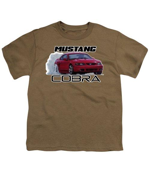 2004 Mustang Cobra Youth T-Shirt by Paul Kuras