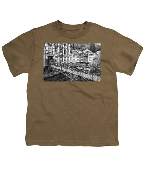 Monschau In Germany Youth T-Shirt by Jeremy Lavender Photography