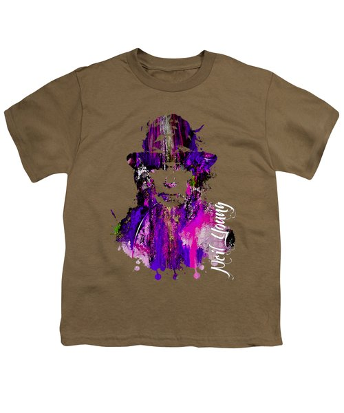 Neil Young Collection Youth T-Shirt by Marvin Blaine