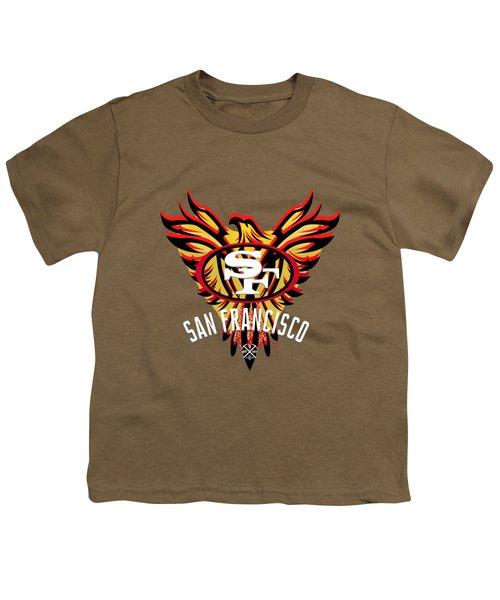 49er Phoenix  Youth T-Shirt by Douglas Day Jones