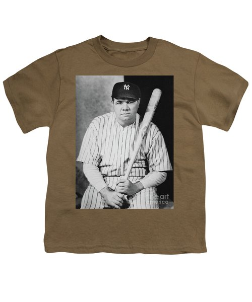 Babe Ruth Youth T-Shirt by American School