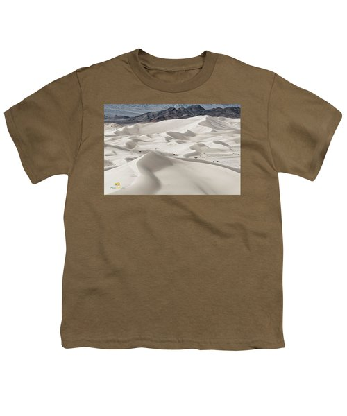 Youth T-Shirt featuring the photograph Dumont Dunes 5 by Jim Thompson
