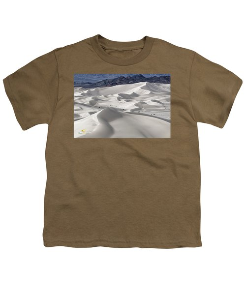 Youth T-Shirt featuring the photograph Dumont Dunes 8 by Jim Thompson