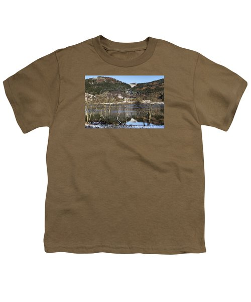 Trossachs Scenery In Scotland Youth T-Shirt by Jeremy Lavender Photography