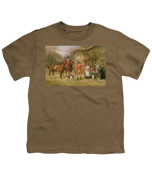 A Meeting At The Three Pigeons Youth T-Shirt