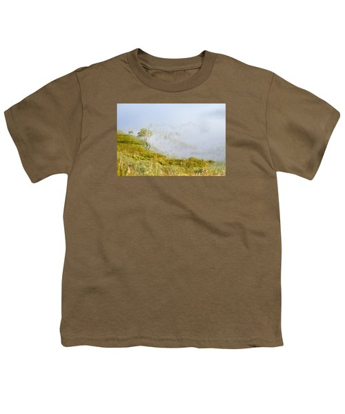 Youth T-Shirt featuring the photograph A Tree In The Lake Of The Scottish Highland by Dubi Roman