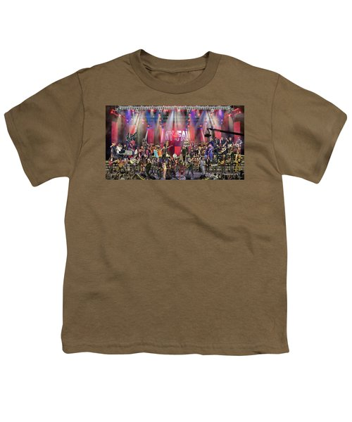 All Star Jam Youth T-Shirt by Don Olea
