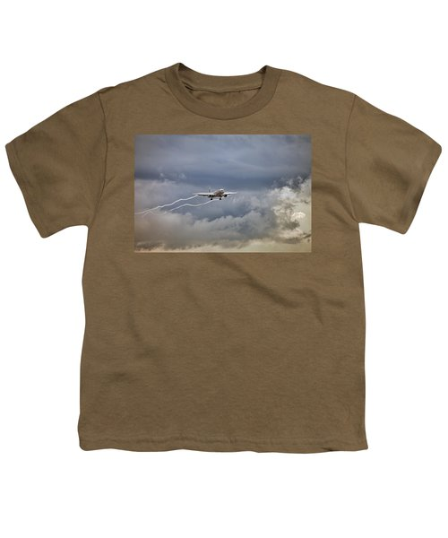 American Aircraft Landing Youth T-Shirt